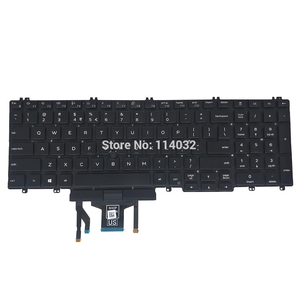 NEW C855-127 TOSHIBA SATELLITE Keyboard UK Layout Black Keys
