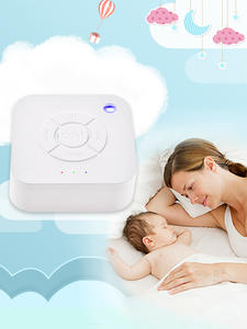 Noise-Machine Sleeping-Relaxation Timed White Travel Baby Rechargeable USB for Shutdown
