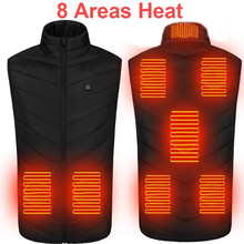 Jacket Waistcoat Heated-Vest Sleevless Usb Electric Fishing Hunting Outdoor Winter Women