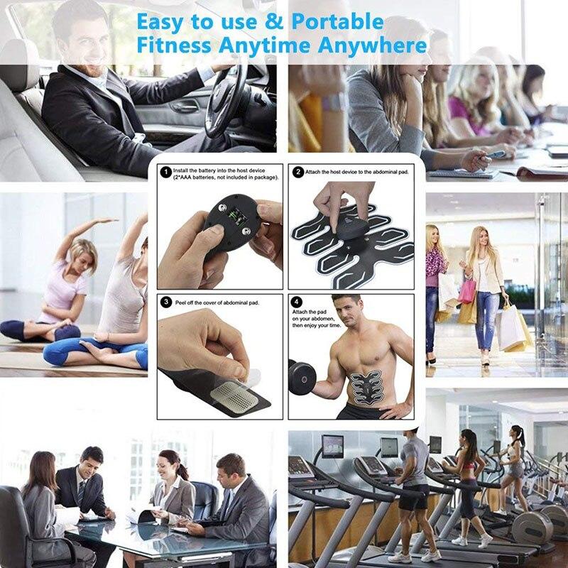 Abdominal Arm Muscle Trainer Ems Massage (19)
