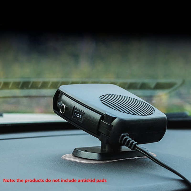 New Car Heater Air Cooler Fan Windscreen Demister Defroster 12V title=
