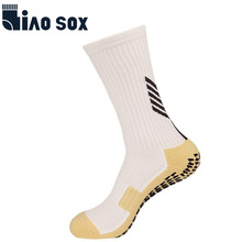 Soccer-Socks Football Sport-Grips Anti-Slip Black Boys High-Quality Men for Teenage Kid