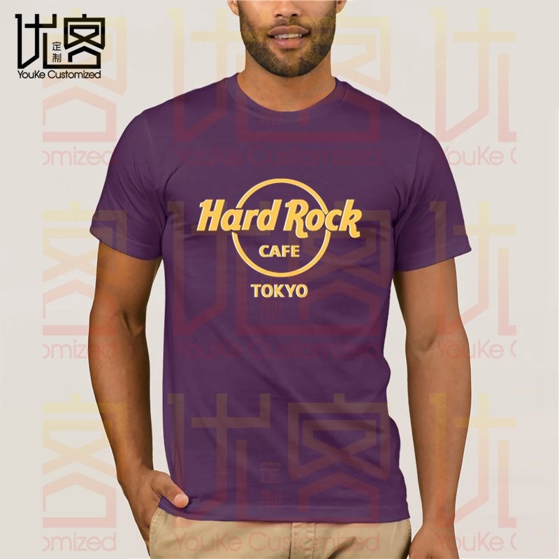 Hard Cafe Tokyo Rock Tshirt Men's women's Summer 100% Cotton Team Tees Male Newest Top Popular Normal Tee Shirts