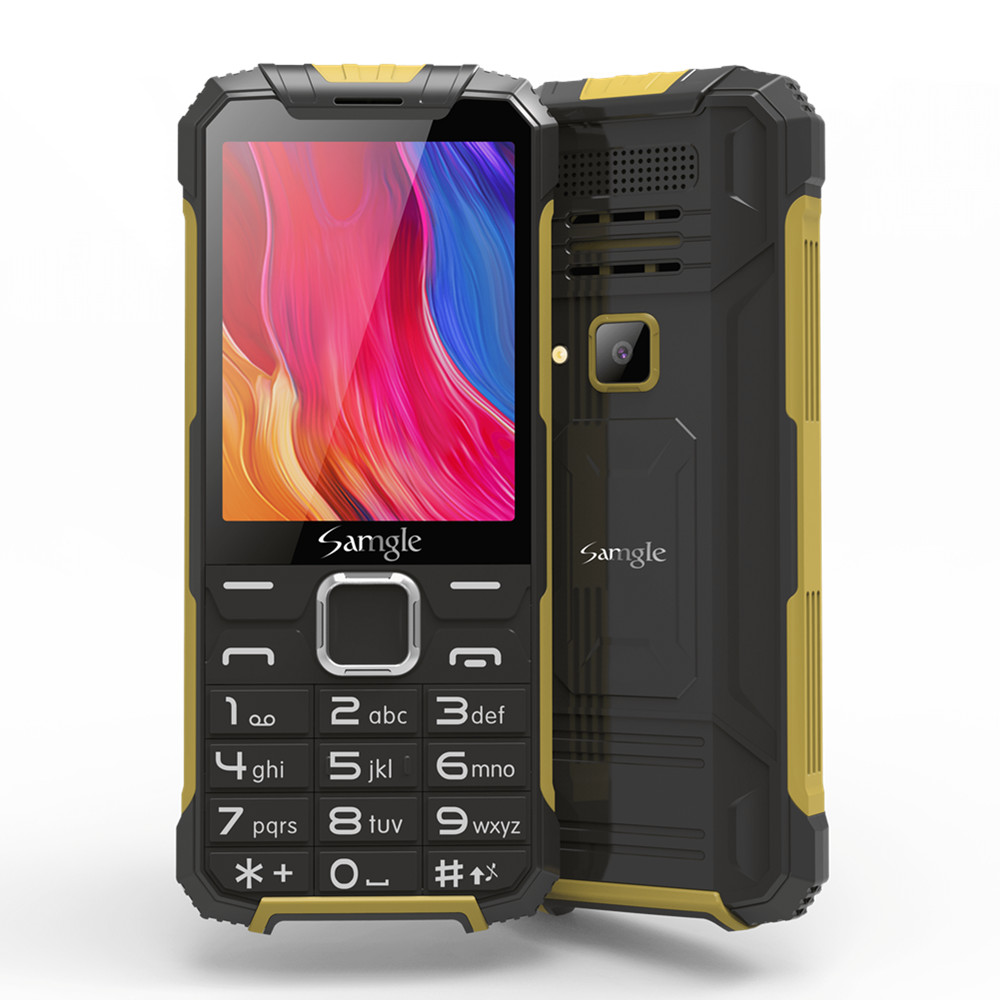 H-Mobile Mt6573 GSM Memory card slots/Video player/Bluetooth/.. New Rugged Keyboard Phone-Speed title=