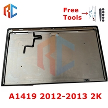 Original 2K A1419 LCD Assembly 2012 2013 LM270WQ1(SD)(F1) For IMAC 27