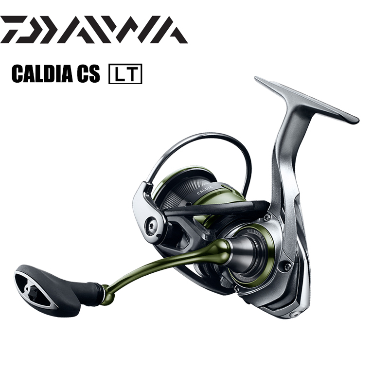 DAIWA CALDIA CS LT 2000S-XH 2500-XH 3000-CXH 4000-CXH High and Low Gear Ratio Magsealed Body Spinning Reel Saltwater Coils title=
