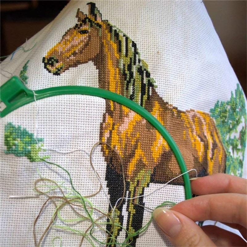 30x30cm 30x45cm Aida Cloth 11CT 100% Cotton Embroidery Cross Stitch Fabric Canvas DIY Needlework Sewing Handcraft Tool For Women (2)