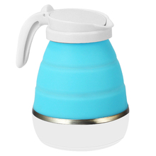 Electric-Kettle Stainless-Steel Foldable Traveling Silicone Camping Practical