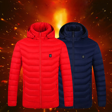 Vest USB Coat Heated-Jackets Thermal-Warmer Electric Heating Hunting Hiking Cotton Camping