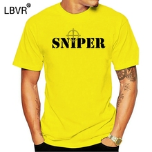 2020 Hip Hop Novelty Men'S Brand SNIPER ,ARMY,AIRSOFT, MILITARY, COMBAT T-SHIRTTee Shirt
