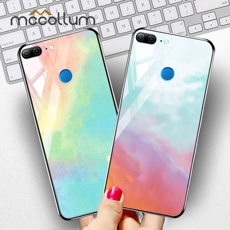 Tempered Glass Case for Huawei Honor 9 10 Lite Cases Star Space Cover Huawei Honor 20 Pro 8X Max 8S Play 8A 8C V20 Note 10 Cases