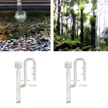 CANISTER-FILTER Pipe Aquarium Inflow Glass Surface-Skimmer with for Plants Transparent