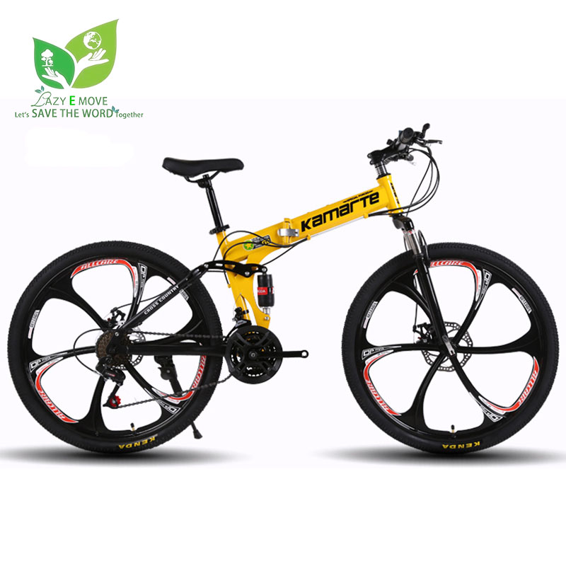 MTB Bike BMX Bicycles Off-Road-Bikes 26-Inch Brakes Wheel-21-Speed Dual-Disc title=