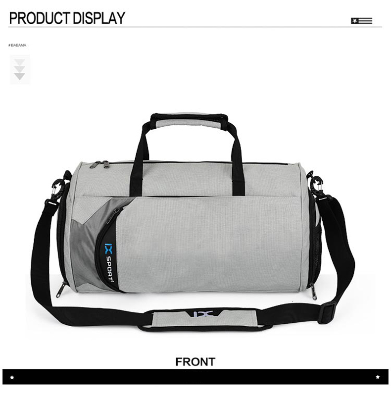Waterproof Sport Bags Men Large Gym Bag Women Yoga Fitness Bag Outdoor Travel Luggage Hand Bag with Shoe Compartment 2019 (14)