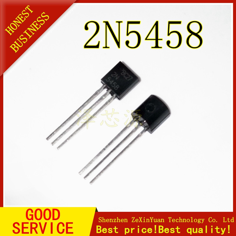 5PCS/LOT 2N5458 TRANSISTOR 2N5458 5458 TO-92 title=