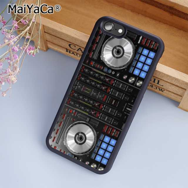 MaiYaCa DJ Mixer Deck контроллер чехол для телефона чехол для iPhone 5 6s 7 8 plus 11 pro X XR XS max samsung S6 S7 edge S8 S9