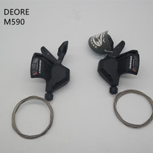 Bicycle Shifters DEORE Rapid-Fire SL-M590 SHIMANO Trigger Speed-Bike MTB Mountain-Bike