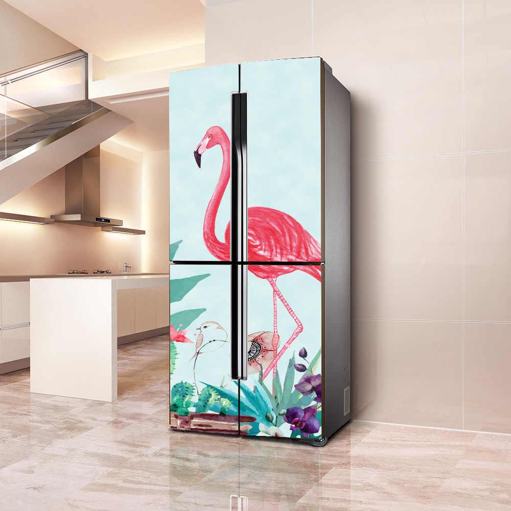 卸売 3d アートパターン自己粘着食器洗い機冷蔵庫凍結ステッカー子供のファッション冷蔵庫のドアカバー壁紙 Gooum