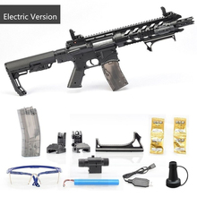 Toy Electric-Gun AR15 Safe Rifle Games Shooting Kids Children's And Fun CS for Christmas-Gifts
