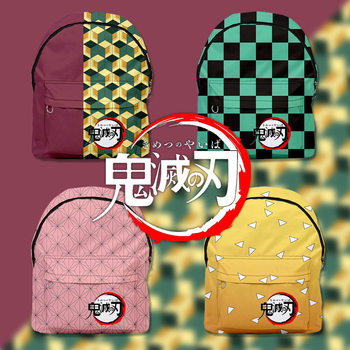 3D Anime Print  Demon Slayer Backpack Kimetsu No Yaiba Cosplay Tomioka Giyuu Mochila Students School Bags Costume Cosplay Bags