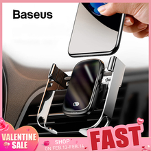 Baseus Car-Charger Qi iPhone Infrared Fast Wireless 10W for Intelligent