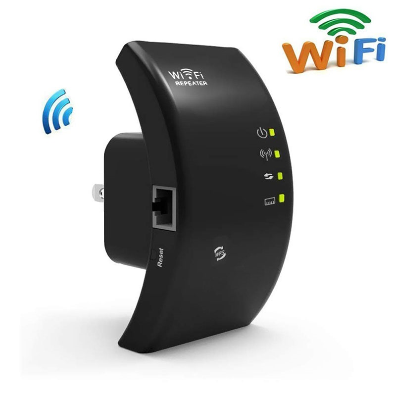 Wireless Wifi Repeater Amplifier Fi-Access-Point 300mbps B/G title=