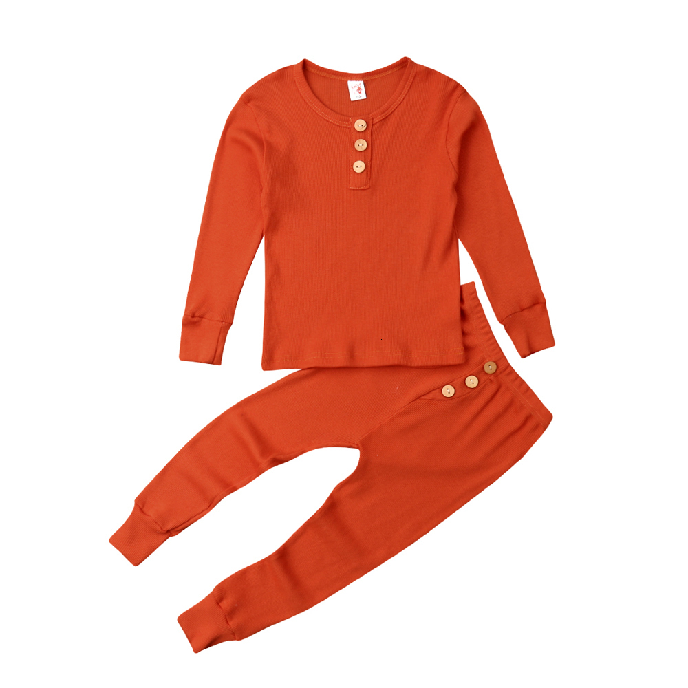 Tracksuit Nightwear Clothes-Sets Sleepwear Toddler Girl Baby Kids Winter Casual Home title=