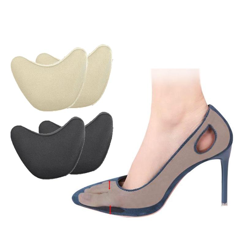 High Heel Half Forefoot Insert Toe Pain Relief Adjustment Toe Front Filler