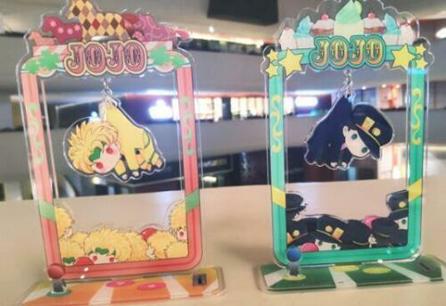 Cosmile Jojos Bizarre Adventure DIO JOTARO Acrylic Keychain Wallet Keycharm Creative limited cosplay Gift