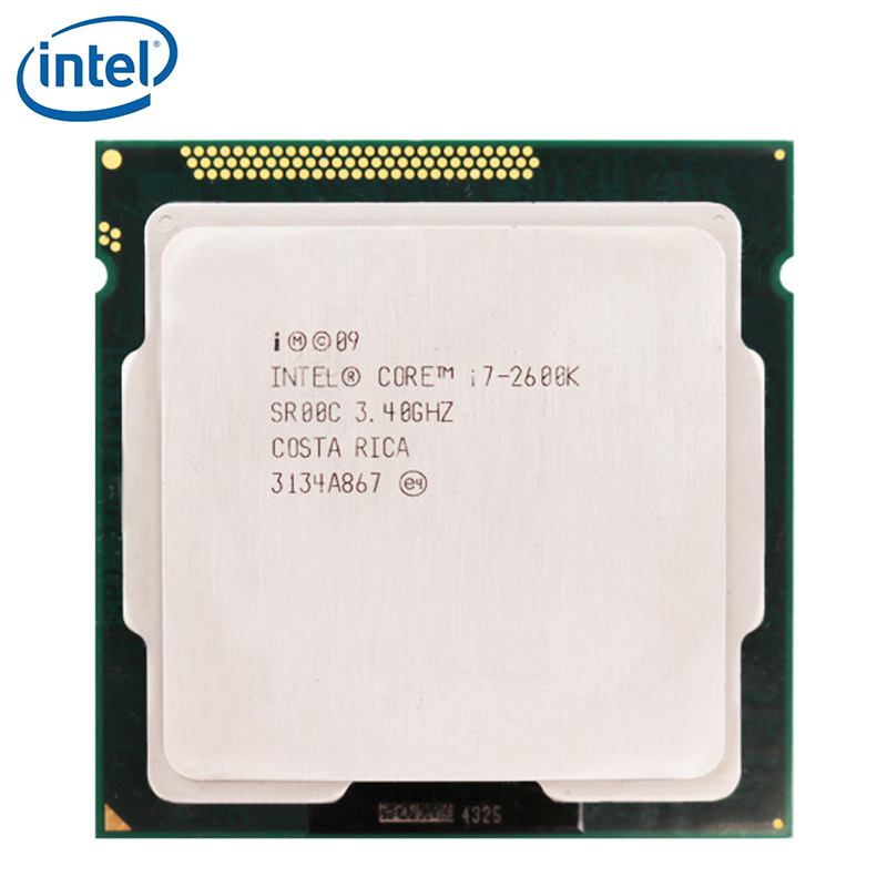 Intel CPU Processor Lga 1155 I7-2600k Quad-Core 8M 95W Tested 100%Working title=