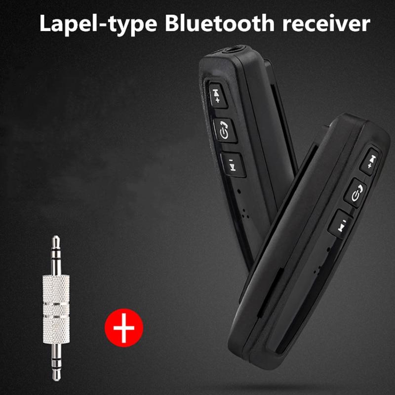 Universal Aux Audio Adapter 3.5mm Car Bluetooth Receiver Adapter 4.1 Converter