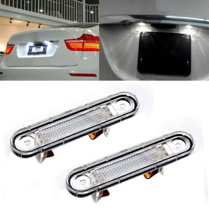 2x Mercedes Clk C208 Bright Xenon Blanco 3smd Led Canbus matrícula Bombillas