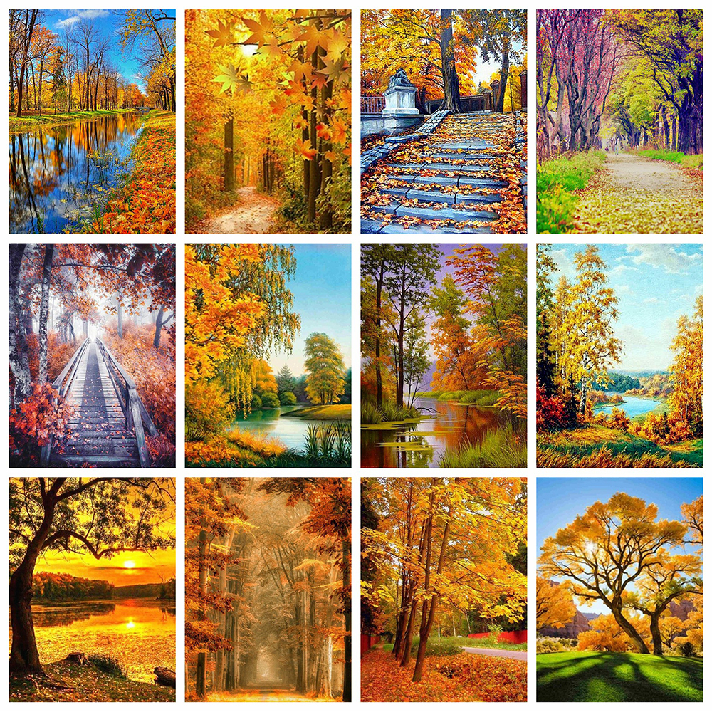 Evershine Painting-Kit Crafts Embroidery Scenery Cross-Stitch Landscape Diamond Mosaic-Sale title=