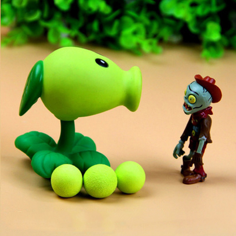 Plants-vs-Zombies-Action-Figure-Toys-For-Children-Parent-Child-Interactive-Toy-Pea-Shooter-Red-Chilli (5)