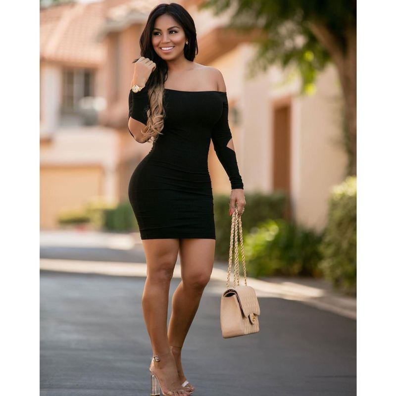 2017 New Lady Dress Sexy Party Dress Euro Nightclub thumbnail