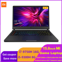 Игровой ноутбук Xiaomi 15,6 дюймов Mi Notebook Upgrade i5-9300H/i7-9750H NVIDIA GeForce GTX1660Ti/RTX2060 ТБ/512GB PCIe SSD компьютер(Китай)