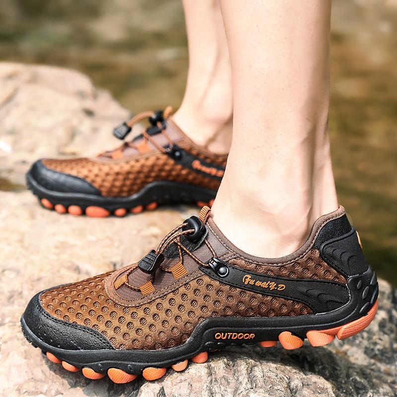 Aqua Shoes Ultra-light Quick-drying Beach Water River Walking 2019 Summer Men Mesh Breathable Flotillas Outdoor Hiking (46)