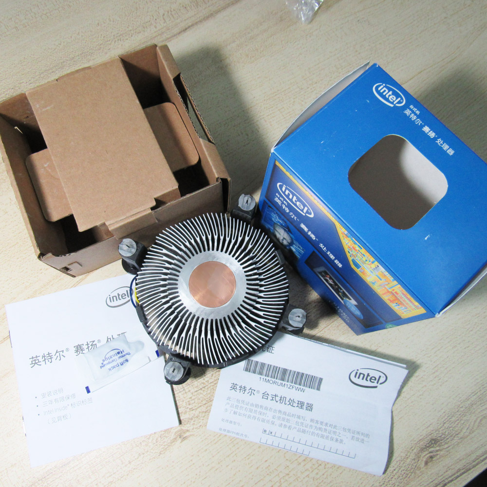 Foxconn Copper Core Intel i3 i5 LGA 1150 1151 1155 Low Profile 1U Cooling Fan