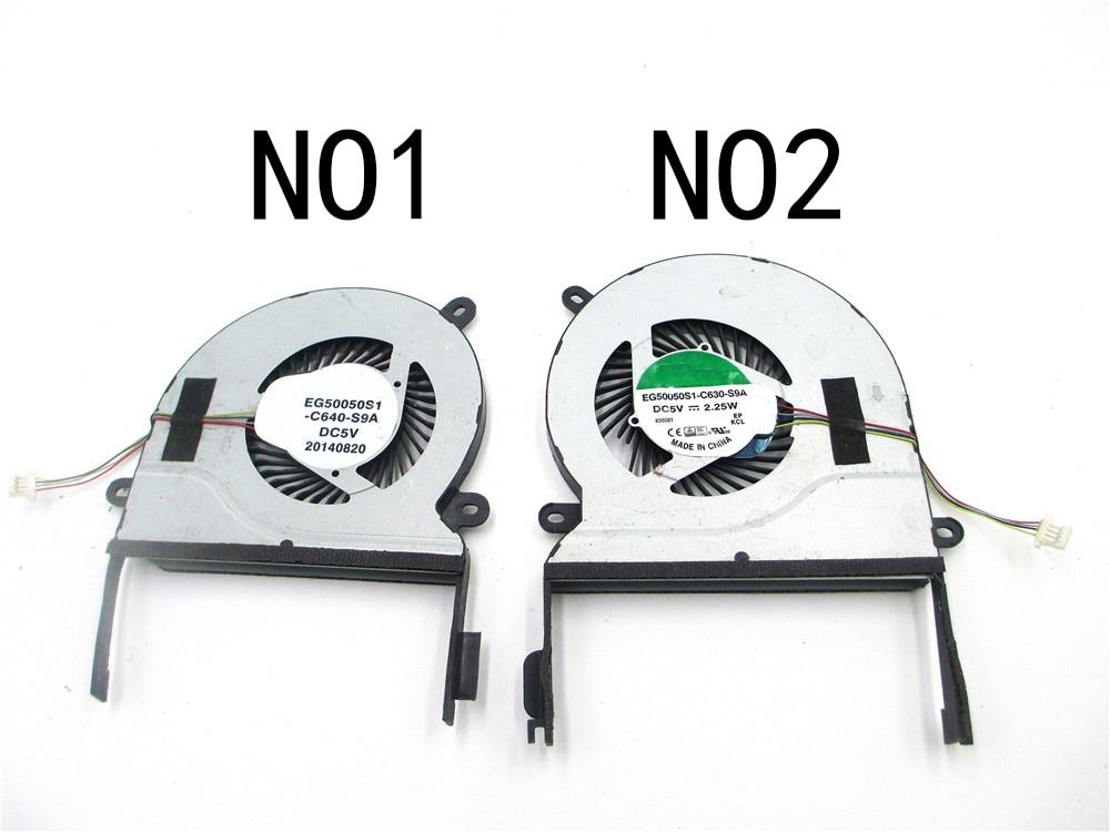 Brand New original for UX501J Asus UX501 UX501JW UX501VW Laptop cooling fan left