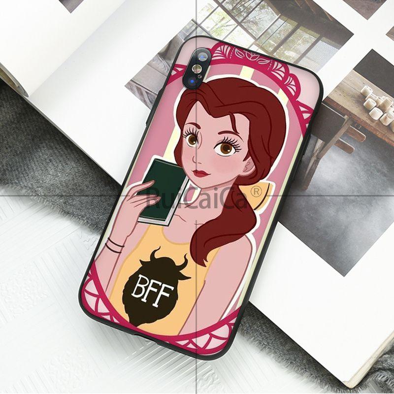 Princess Snow White Ariel Jasmine Belle Mulan Moana