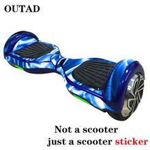 Skin-Sticker Cover Scooter-Wheel-Board Hoverboard-Decoration Electric Protective Self-Balancing