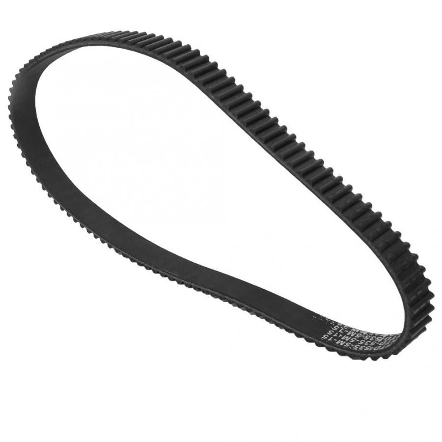 Thicken 5M‑550‑15 Heat Resistance Drive Belt Timing Belt Timing Belt Replacement Wear‑Resistant for E-Scooter
