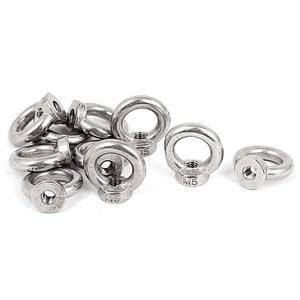 M20 Tuerca de acero inoxidable 304 Tuerca de anilla de elevaci/ón paquete de 1