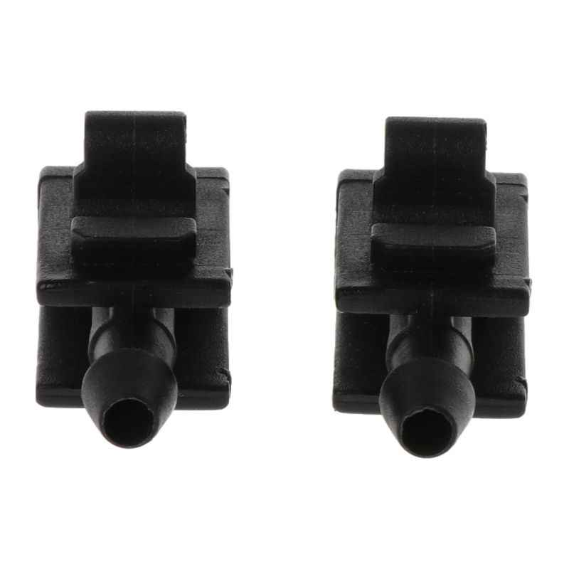 2Pcs Car Front Windshield Washer Spray Nozzle Jet for Renault Megane 2 Scenic 2 8200082347