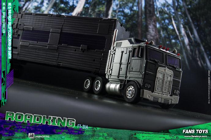 Fans Toys transforms Masterpiece FT-31A Roadking aka MP Motormaster MISB