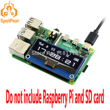 Display Raspberry Pi 4b/zero-W for OLED Pixels 12832 Spi/i2c-Interface