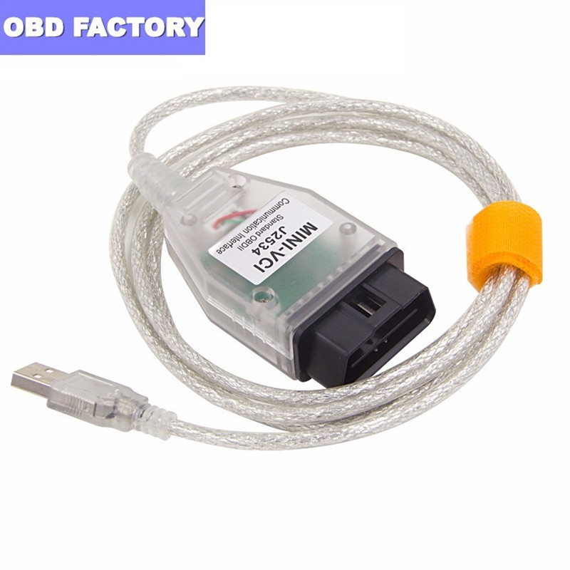 VCI Tis-Cable Techstream J2534 MINI-VCI Toyota for FT232RL V14.10.028 title=