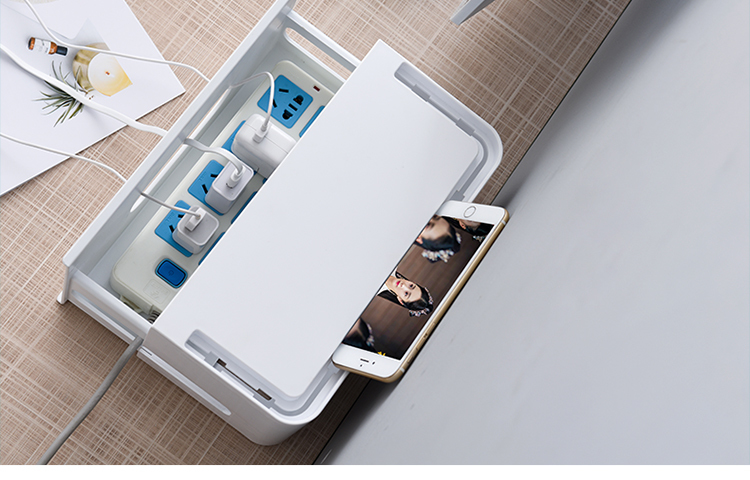 Double Layers Drawer Type WIFI Router Storage Box 74