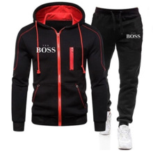 Men's Suit Pants Sportswear Hoodie Yes Boss Training Harajuku Jogging Casual Brand New