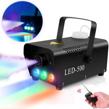 Fog-Machine Rgb-Lights Remote-Control Stage-Show Parties Wireless 500W Ce with for Dj-Performance